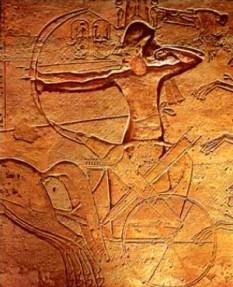 Ramses al II-lea în Bătălia de la Kadesh - foto - ro.wikipedia.org