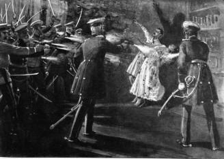 Regele  Serbiei,  Alexandru Obrenovici, și regina Draga, sunt asasinați la Belgrad - foto - cersipamantromanesc.wordpress.com