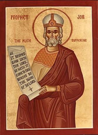Sfântul şi Dreptul Iov îndelung-răbdătorul a fost unul dintre drepţii Vechiului Testament. Biserica Ortodoxă îl prăznuieşte pe 6 mai - foto: doxologia.ro