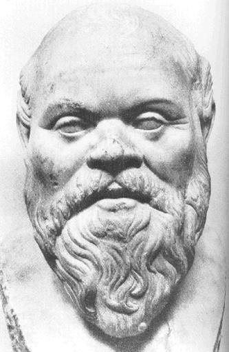 Socrate (n. cca. 470 î.Hr. – d. 7 mai 399 î.Hr.) a fost un filosof din Grecia antică - foto: ro.wikipedia.org