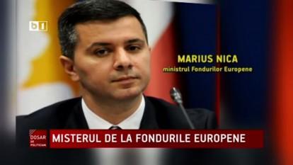 Marius Nica, ministrul Fondurilor Europene - foto captura video B1.ro