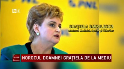 Grațiela Gavrilescu - foto captura video B1.ro