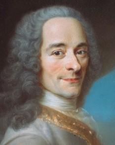 Voltaire, pe numele său adevărat François-Marie Arouet, (n. 21 noiembrie 1694 la Paris - d. 30 mai 1778 la Paris), scriitor și filozof al Iluminismului francez - foto: ro.wikipedia.org
