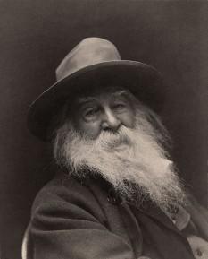 Walt Whitman, 1887 (31 mai 1819 – 26 martie 1892) poet american - foto - en.wikipedia.org