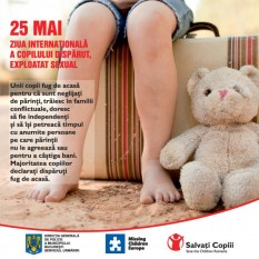 Ziua mondiala a copiilor disparuti - foto preluat de pe cersipamantromanesc.com