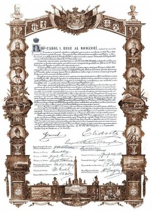 Actul proclamarii Regatului Romania - foto - stiri.tvr.ro