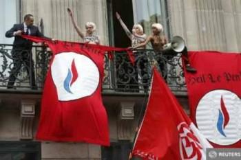 Militantele Femen - Foto: (c) Benoit Tessier / REUTERS
