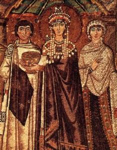 Teodora (c.500 - 28 Iunie 548) una din cele mai importante împărătease bizantine; a fost soția lui Iustnian I - foto - ro.wikipedia.org