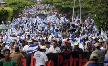 Protest Nicaragua - foto - epochtimes-romania.com