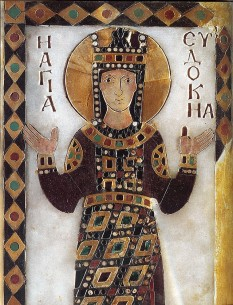 Aelia Eudocia Augusta (c. 401–460) was the wife of Theodosius II - foto - en.wikipedia.org
