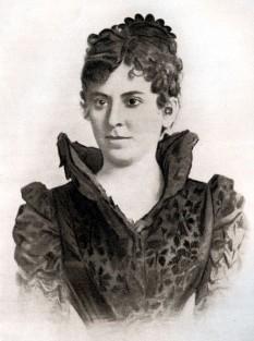 Aristizza Romanescu (n. 24 decembrie 1854, Craiova - d. 4 iunie 1918, Iași) renumită actriță română, profesoară de declamație la Conservatorul de Artă Dramatică din București - foto - ro.wikipedia.org
