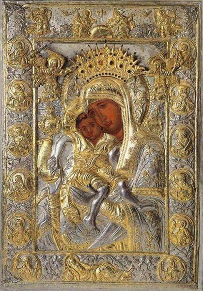 """Icoana Maicii Domnului """"Axion Estin"""",  Cinstirea sa de către Biserica Ortodoxă se face la data de 12 iunie - foto: doxologia.ro"""