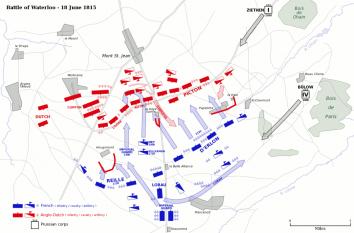 Bătălia de la Waterloo - foto - ro.wikipedia.org