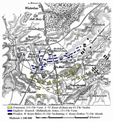 Un plan al bătăliei - foto - ro.wikipedia.org