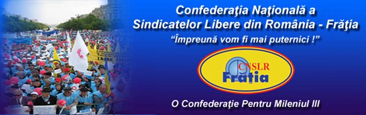 Confederația Națională a Sindicatelor Libere din România-Frăția sau pe scurt CNSLR-Frăția este cel mai mare sindicat din România - foto - cnslr-fratia.ro