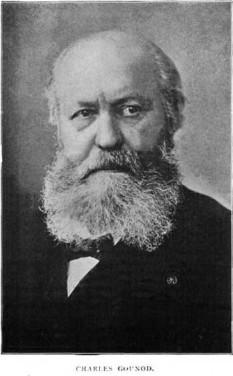 Charles Gounod (n. 17 iunie 1818, Paris - d. 18 octombrie 1893) compozitor francez, devenit celebru datorită operei sale Faust - foto - ro.wikipedia.org