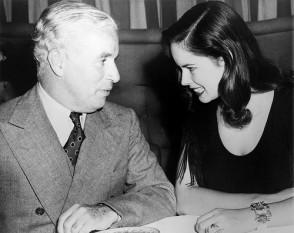 Charlie Chaplin si Oona O'Neill - foto - tumblr.com
