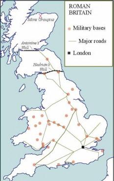 cucerirea romană a   Britaniei - foto - cersipamantromanesc.wordpress.com