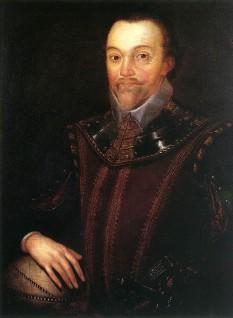 Sir Francis Drake, vice admiral (c.1540 – 27 January 1596) corsar englez-  foto - en.wikipedia.org
