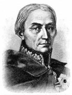Friedrich Wilhelm Freiherr von Bülow (16 februarie 1755 - 25 februarie 1816) general prusac, conte de Dennewitz, participant în războaiele napoleoniene - foto - ro.wikipedia.org