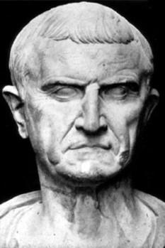Servius Sulpicius Galba (24 decembrie 3 î.Hr. - 15 ianuarie 69) împărat roman din iunie 68 până la moartea sa - foto - ro.wikipedia.org