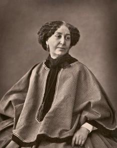"""Amantine (sau """"Amandine"""") Lucile Aurore Dupin, mai târziu Baroană (franceză baronne) Dudevant (1 iulie 1804 – 8 iunie 1876), cel mai bine cunoscută sub pseudonimul său literar George Sand, scriitoare și feministă franceză ( fotografie de Nadar, 1864) - foto - ro.wikipedia.org"""