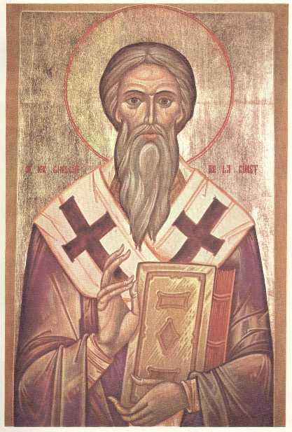 Sfântul Ierarh Ghelasie de la Râmeț (sec. al XIV-lea) - foto preluat de pe ro.orthodoxwiki.org