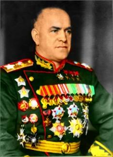 Gheorghi Konstantinovici Jukov  (1 decembrie stil nou/19 noiembrie stil vechi 1896 – 18 iunie 1974) militar și politician sovietic - foto - cersipamantromanesc.wordpress.com
