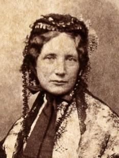 Harriet Elisabeth Beecher Stowe (June 14, 1811 – July 1, 1896) scriitoarea americana - foto - en.wikipedia.org