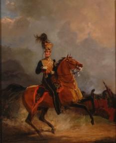 Henry William Paget (n. 17 mai 1768 - d. 29 aprilie 1854) primul marchiz de Anglesey, conte de Uxbridge, general de cavalerie, feldmareșal britanic - foto (Uxbridge în timpul bătăliei de la Waterloo) - ro.wikipedia.org
