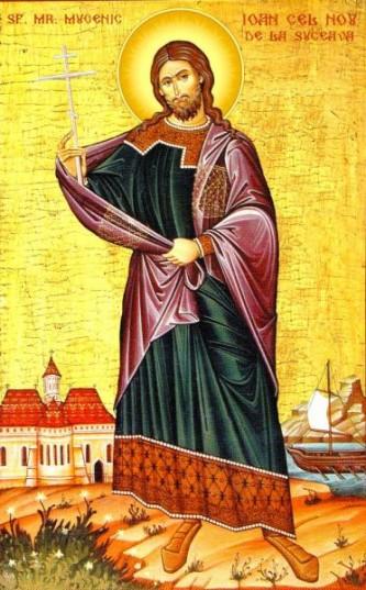 Sfântul mare mucenic Ioan cel Nou de la Suceava a fost un sfânt român din secolul al XIV-lea. Prăznuirea sa se face la 2 iunie și 24 iunie - foto: doxologia.ro