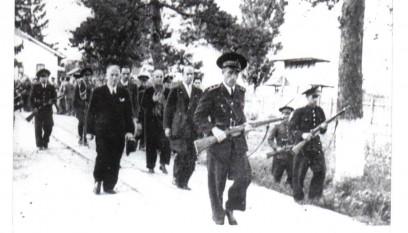 Execuţia lui Ion Antonescu - foto - secreteleistoriei.blogspot.ro