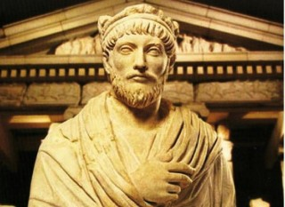 Flavius Claudius Iulianus (331 – 26 iunie 363) împărat roman care a domnit între 361 - 363, ultimul împărat roman păgân  foto: cersipamantromanesc.wordpress.com