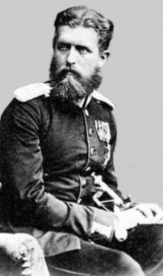 Leopold Stefan Karl Anton Gustaf Eduard Tassilo von Hohenzollern Sigmaringen (n. 22 septembrie 1835, Krauchenwies - d. 8 iunie 1905, Berlin) primul fiu al prințului Karl Anton de Hohenzollern-Sigmaringen. Fratele său mai mic a devenit Regele Carol I al României - foto - ro.wikipedia.org