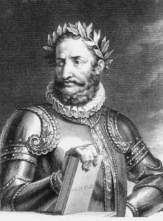 Luís Vaz de Camões (n. 1524 - d. 10 iunie 1580) poetul național al Portugaliei și unul dintre clasicii literaturii universale - foto - ro.wikipedia.org