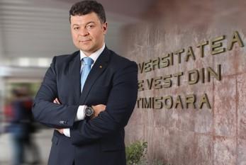 Marilen Pirtea - rectorul Universităţii de Vest - foto - economistul.ro