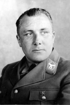 Martin Bormann (17 June 1900 – 2 May 1945) lider  nazist german - foto - en.wikipedia.org