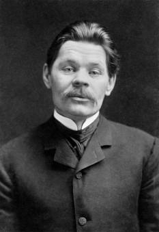 Alexei Maximovici Peșkov (n. 16 martie 1868 (S.N. 28 martie) – d. 18 iunie 1936), mai bine cunoscut ca Maxim Gorki scriitor rus/sovietic, fondator al realismului socialist în literatură și activist politic - foto - ro.wikipedia.org