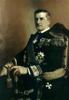Miklós Horthy de Baia Mare, cavaler de Szeged și Otranto (în maghiară Vitéz Nagybányai Horthy Miklós; n. 18 iunie 1868, Kenderes - d. 9 februarie 1957, Estoril) amiral austro-ungar și guvernatorul Ungariei de la 1 martie 1920 până la 15 octombrie 1944 - foto - ro.wikipedia.org
