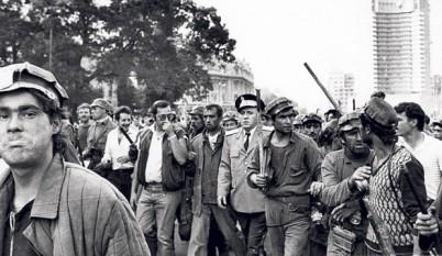 Mineriada din 13-15 iunie 1990 - foto - stiri.tvr.ro