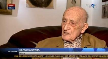 Neagu Djuvara - foto - stiri.tvr.ro