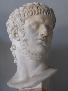 Nero Claudius Caesar Augustus Germanicus (n. 15 decembrie 37 – d. 9 iunie 68), al cincilea împărat roman al dinastiei iulio-claudiene -  foto - en.wikipedia.org
