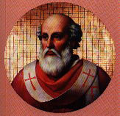 Papa Adeodat al II-lea fost al 77-lea papă al Bisericii Catolice de la 11 aprilie 672 până la 17 iunie 676 - foto - ro.wikipedia.org