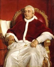 Papa Grigore al XVI-lea, născut Bartolomeo Alberto Mauro Cappellari (n. 18 septembrie 1765 — d. 1 iunie 1846), papă din 1831 până la 1846 - foto - ro.wikipedia.org