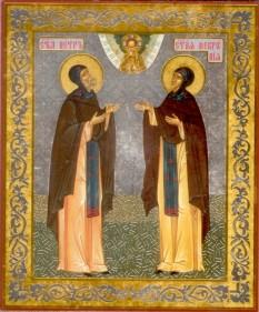 Sfintii Petru si Fevronia - foto - calendar-ortodox.ro