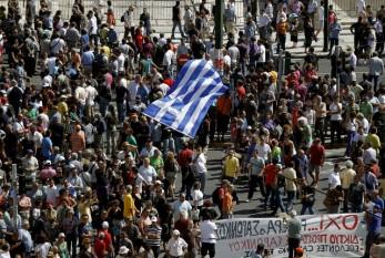 Proteste in Grecia - foto - economica.net