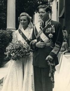 Regele Mihai I și Principesa Ana de Bourbon-Parma - foto - cersipamantromanesc.wordpress.com