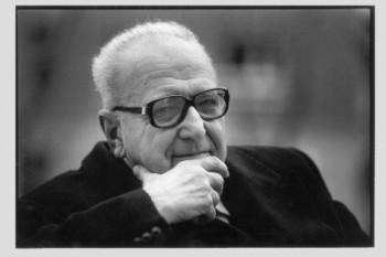 Roger Garaudy or Ragaa Garaudy (17 July 1913 – 13 June 2012) filosof francez - foto - cersipamantromanesc.wordpress.com