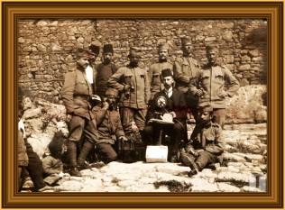 Soldati sîrbi în timpul celui de-Al Doilea Război Balcanic - foto - istoria.md