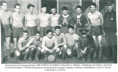 Steaua în primăvara anului 1947 - foto - steauafcsb.weebly.com
